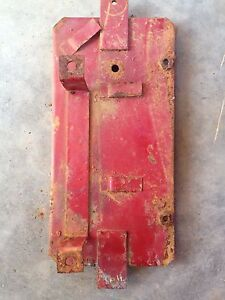 Ih International Harvester Farmall 504 Utility Battery Box Bottom Sheet Metal