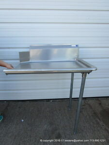 New Stainless Steel Clean Right Side Dish Table 36 16ga Nsf