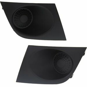 New Fog Light Covers Set Of 2 Driver Passenger Side Ni1039111 Ni1038111 Pair