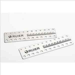 Free Shipping 10 Pcs New Dental Endo Rulers Endodontic Span Measure Scale Ruler
