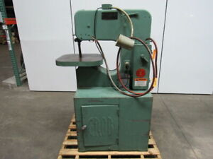 Grob Brothers Fab 18 Continuous Filing Vertical Band Saw Machine