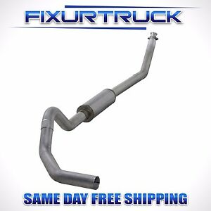Diamond Eye 4 Turbo back Exhaust For 1994 2002 Dodge Cummins 5 9l K4212a