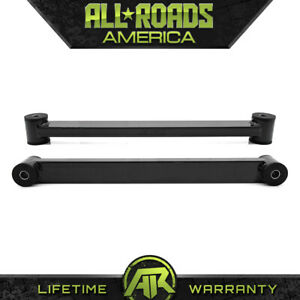 Steel Rear Lower Trailing Control Arm Kit Blk 1997 2002 Ford Expedition 4x2 4x4