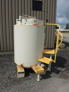 270 Gallon Stainless Steel Tank Tote With Heating cooling Coil