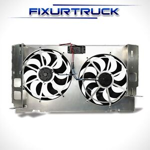 Flexalite 262 Dual 15 Electric Cooling Fans For 94 02 Dodge Diesel