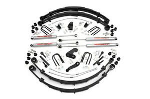 Rough Country 6in Jeep Suspension Lift Kit 87 95 Yj Wrangler Power Steering