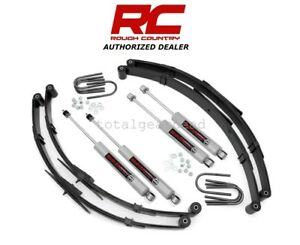 1987 1995 Jeep Wrangler Yj 4wd 2 5 Rough Country Suspension Lift Kit 615 20