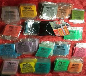 50 Pack Wonder Wafers Car Home Air Fresheners Individually Wrapped All Scents