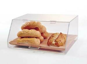 Bread Case Single Tray Bread Cabinet Acrylic Deli Display For Breads
