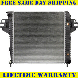 Radiator Jeep Fits Liberty 3 7 V6 6cyl With Without External Cooler 2481