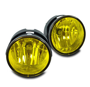2007 2015 Ford Expedition Suv 2008 2011 Ranger Bumper Yellow Fog Lights Lamp Kit