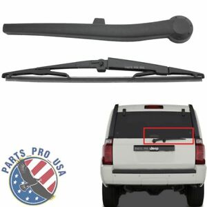 Rear Windscreen Wiper Arm Blade For Jeep Commander 5174877aa 2006 2010