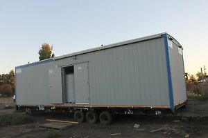 2009 Pacific Mobile Shower Trailer 36ft By 10ft 7 Showers With Tanks