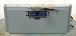 Square D Qmb 324 Fusible Disconnect Panelboard Switch 240 Vac 200 Amp 3 Ph