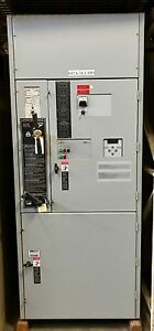 Used Indoor Automatic Transfer Switch N1 600amps 3 Phase 60 Hertz 480 Volt Asco