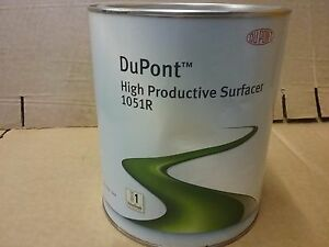 Dupont 2k Primer Surfacer 1051r 3 5 Litre White Vs1 High Productive Filler
