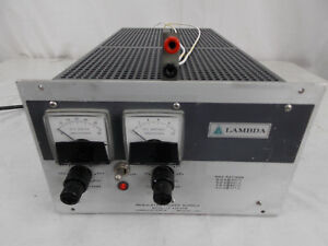 Lambda Regulated Power Supply Model Lk 345a Fm tested