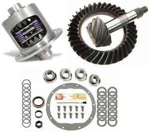 Chevy 4wd Truck Corp Front Gm 8 5 3 73 Excel Ring And Pinion Posi Gear Pkg