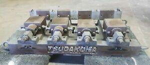 Tsudakoma 4 Position Gang Modular 4 Vise System For Cnc Mill