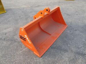 Sec Excavator Ditching Bucket To Fit 6 Ton cat307 Zx60 Pc60 Sk60 And More