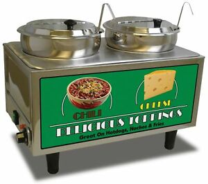 New Benchmark 51072 Chili And Cheese Warmer 21 Length X 13 Width X 17 Height