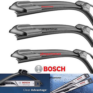 Bosch Clear Advantage Front Rear Windshield Wiper Blades 3 Pc Set 18 18 13