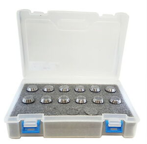 Dz Brand Er20 Metric Collet Set 12 Pieces 2mm 13mm