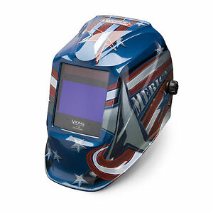 Lincoln Viking All American 2450 3 Welding Helmet K3174 3