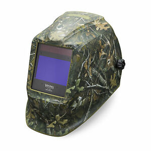 Lincoln Viking White Tail Camo 2450 3 Welding Helmet K4411 3