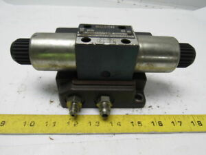 Bosch 081wv06p1v1001ws024 00d51 Hydraulic Solenoid Directional Control Valve