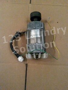 Dryer Motor Wascomat Td3030 120v 1ph 60hz P n 487235873 used