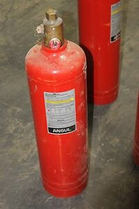 Ansul 25 Lb Dry Chemical Cartridge Fire Extinguisher Tank