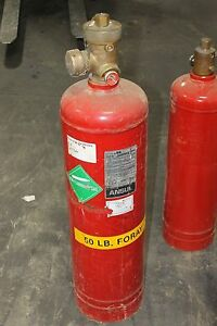 Ansul 50 Lb Dry Foray Fire Extinguisher Tank
