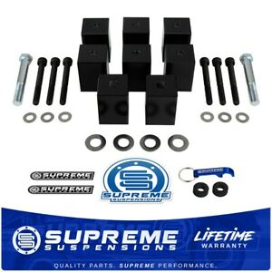 Fits 97 06 Jeep Wrangler Tj Seat Risers 1 5 Inch Billet Spacers 4x2 4x4
