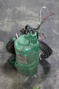 Hydromatic Submersible Sewage Pump G1x200jd 2hp 460v
