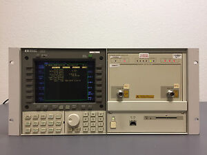 Hp 70004a Spectrum Analyzer Display Hp 70842b 3ghz Error Detector