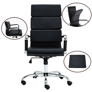 Home office Recline Chairs Executive Ergonomic Task Chair W velcro Swivel Seat