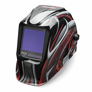 Lincoln Viking 3350 Twisted Metal Welding Helmet K3248 3