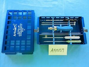 Arthrex Arthroscopic Arthroscopy Bio fastak Instrument Set Ar 1327 Complete