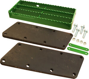 Amx19123 4th Step Kit W Rubber Side Plates For John Deere 3010 3020 Tractors