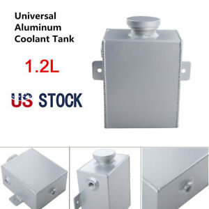Universal Aluminum Radiator Overflow Coolant Tank Bottle