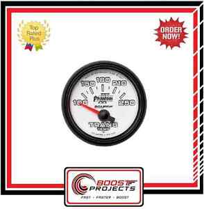 Autometer 100 250 f Phantom Ii Analog Transmission Temperature Gauge 7549
