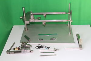 Trent H Wells Stereotaxic Small Animal Base Frame With Bars And Extras
