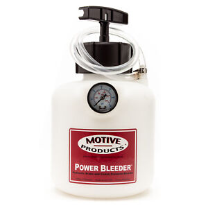 Motive Products 0250 Universal Pro Power Bleeder Kit W Adapters