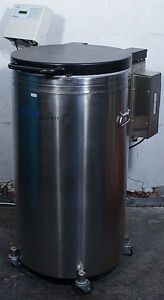 Chart Mve Xlc 511 f gb bb Cryo Preservation Cryogenic Liquid Nitrogen Freezer