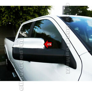 For Dodge Ram 1500 2500 3500 2009 2010 2016 Chrome 2 Towing Mirror Covers Signal