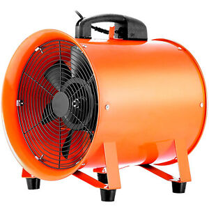 10 Exhaust Fan Blower Ventilator Extractor Duct Hose High Rotation Heavy Duty