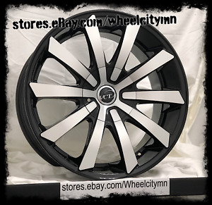 20 Inch Black Vct V48 Wheels Ford F150 Expedition Lincoln Navigator 20x9 6x135