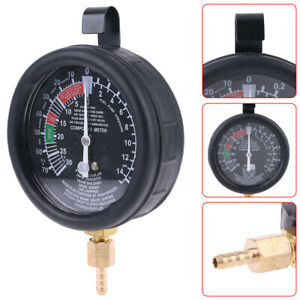 2 5 Fuel Pump Vacuum Tester Gauge Leak Carburetor Pressure Diagnostics W Case