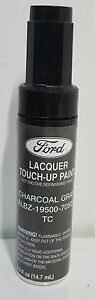 Nos Oem Ford Lacquer Touch Up Paint Charcoal Gray Albz 19500 7050a Tc